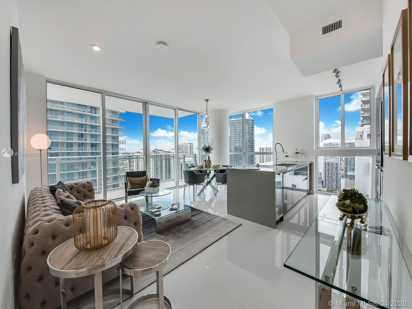 1080  Brickell Ave #3609 For Sale A10843098, FL