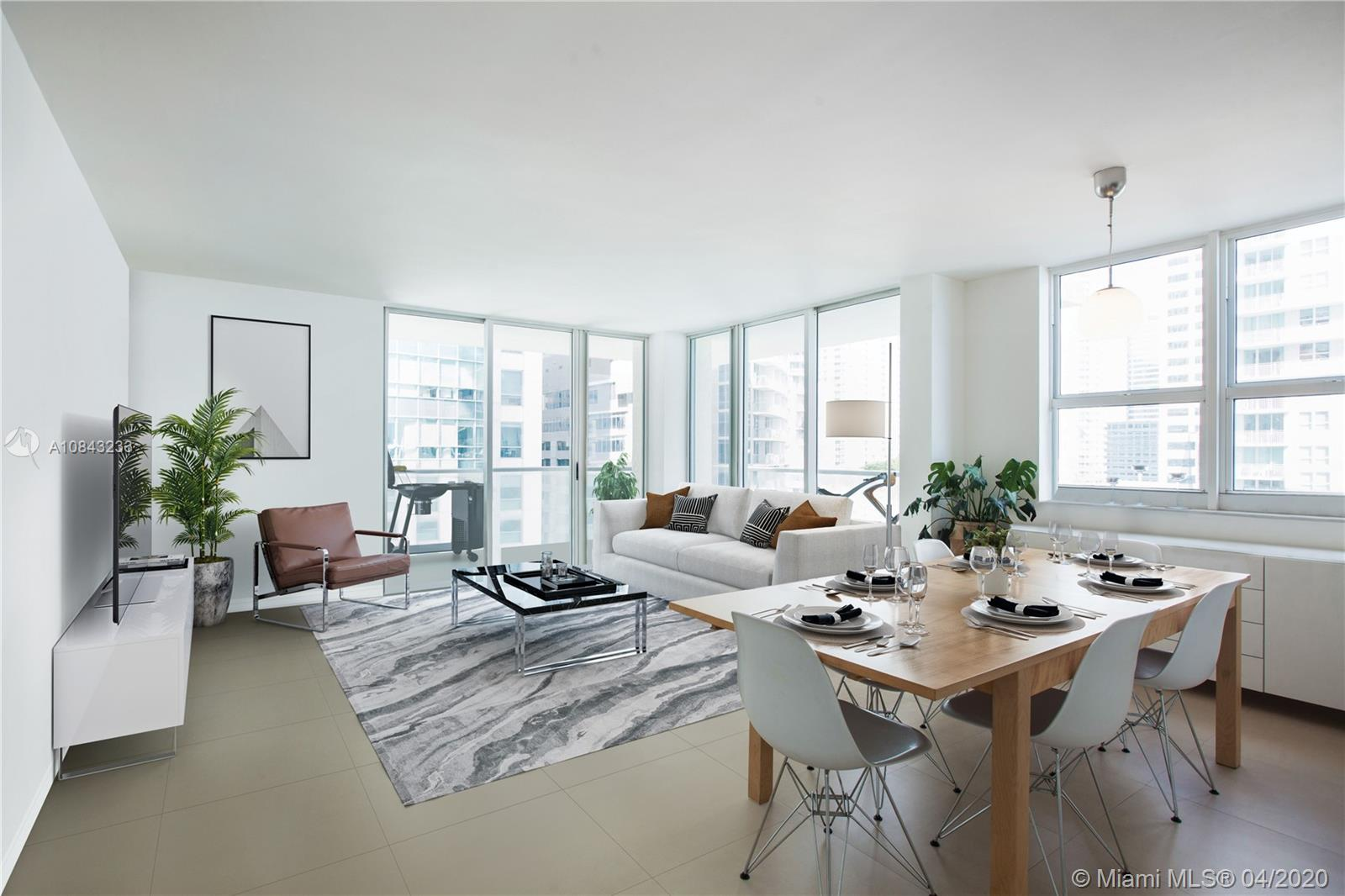 1155  BRICKELL BAY DR #1502 For Sale A10843233, FL