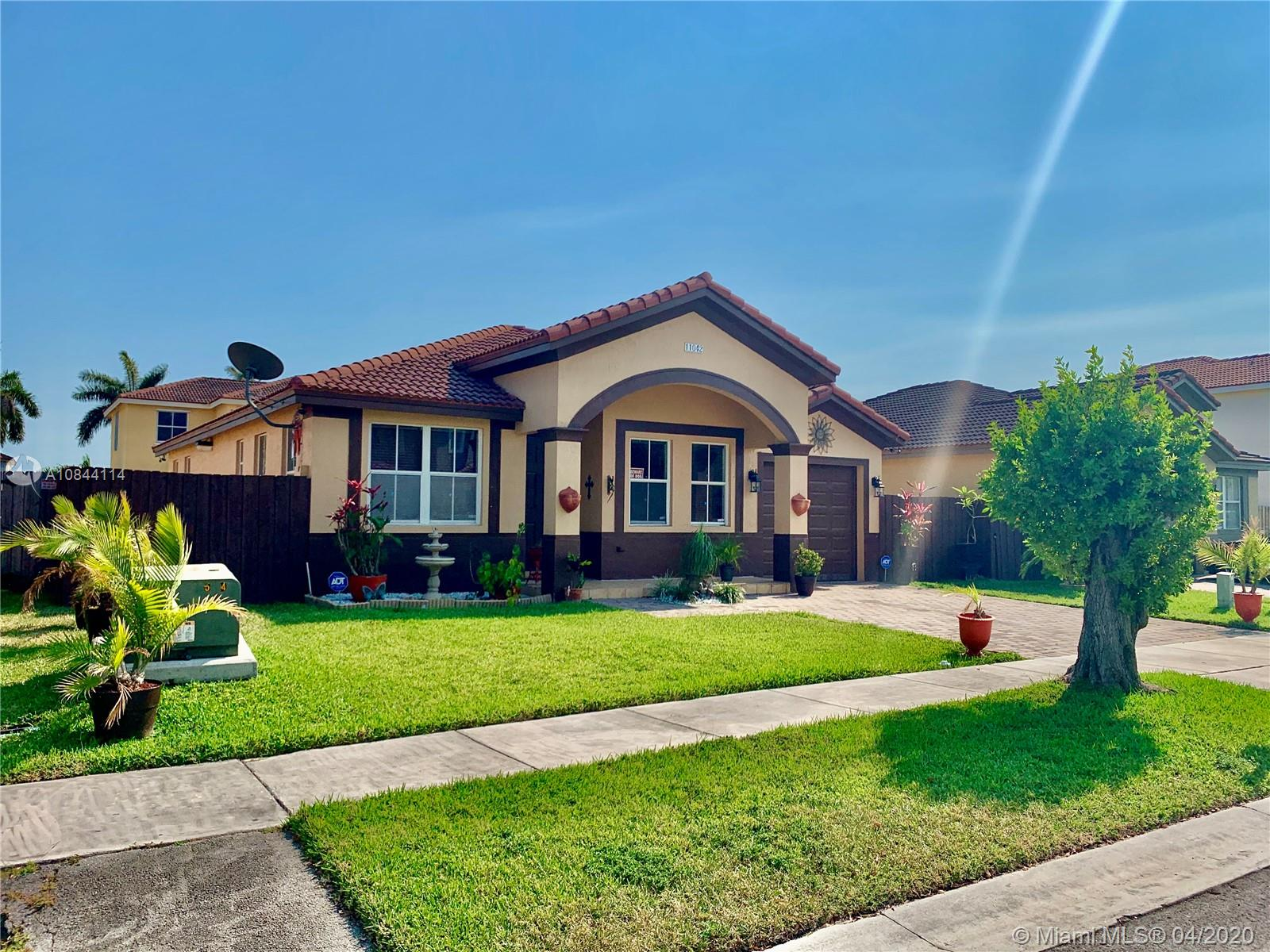 11042 SW 241st St  For Sale A10844114, FL