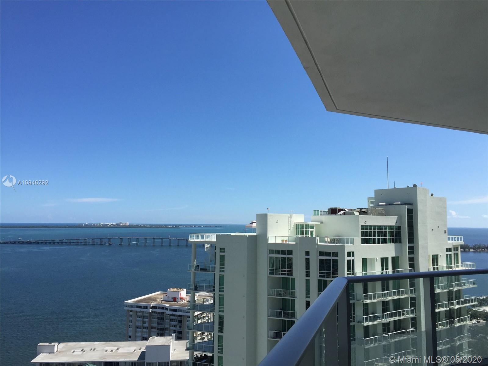 "Beautiful corner 3 bedroom 2.5 bath unit in Brickell House .  Best location in Brickell and this building has amazing amenities .  Lounge area, HD screening room with 10""ft screen theater-style seating . 