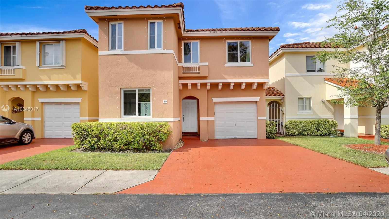 14816 SW 104th St #89 For Sale A10845017, FL