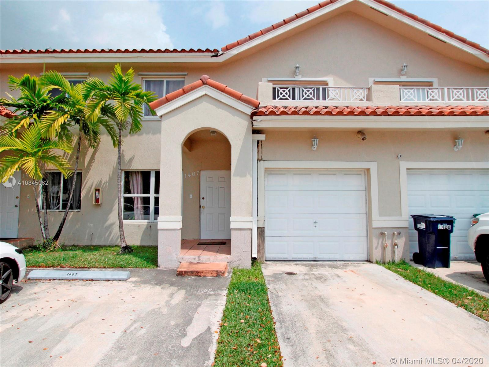 8851 NW 110th Pl #1407 For Sale A10845062, FL