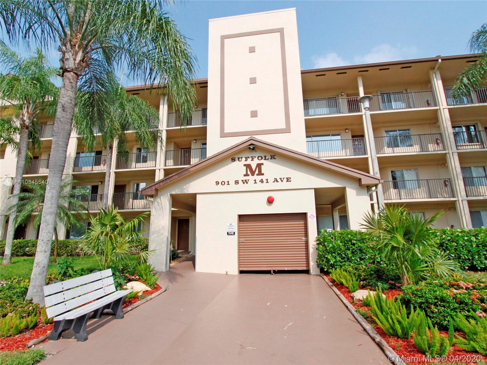 Biggest 2 bed/2 baths model, lakefront condo in Century Village, a 55+ community. The unit is located on the 3rd floor and the building has an ample elevator. The kitchen was remodeled and upgraded and lots of extra storage and cabinets. It has a small nook that is used as breakfast area. Tile throughout the apartment. Huge living/family room plus screen balcony with shutters that have gorgeous lake views. The master bedroom is huge with a walk-in closet and a linen closet. Exciting amenities with lots of events, pools, tennis courts, gym and even a community center! Free transport to local restaurants, pharmacies and A + schools.