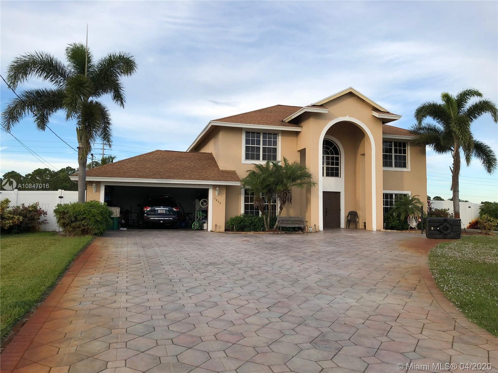 5839 NW Arley Ct  For Sale A10847016, FL