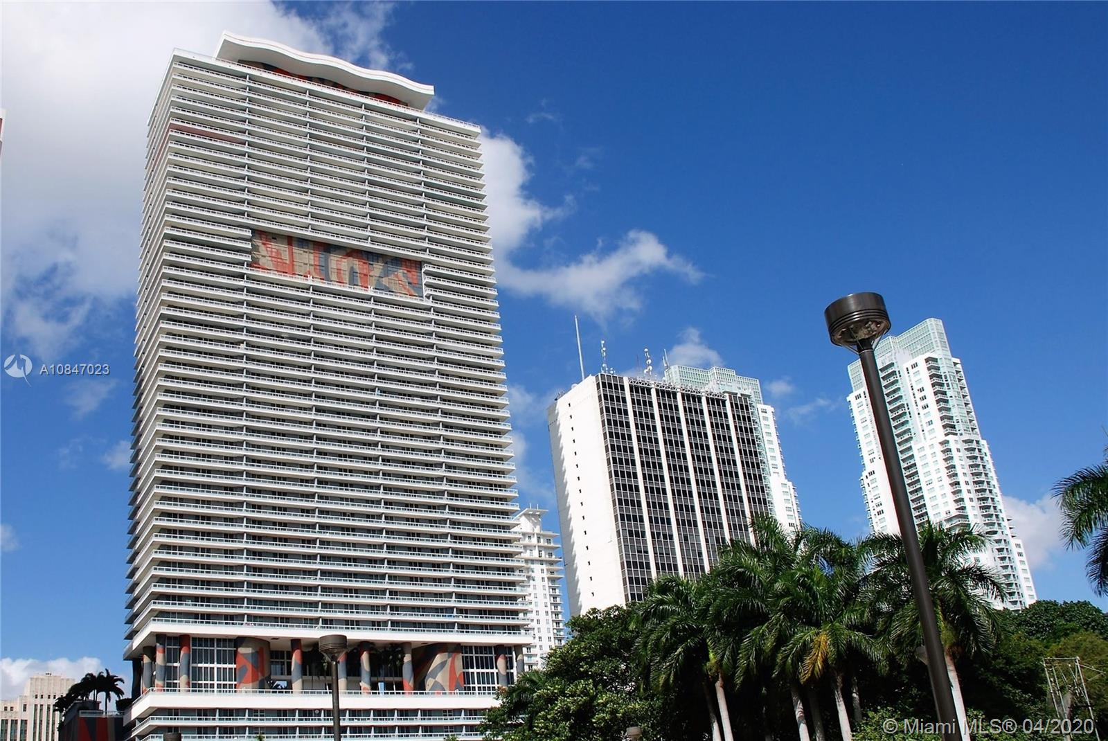 Location, location, location. Nearby to AAA Arena, Jorge Perez Museum and bars all along Biscayne Blvd. First class amenities which include an Olympic size heated pool, party rooms, gym with a Pilates room, 24 hour concierge and valet parking.