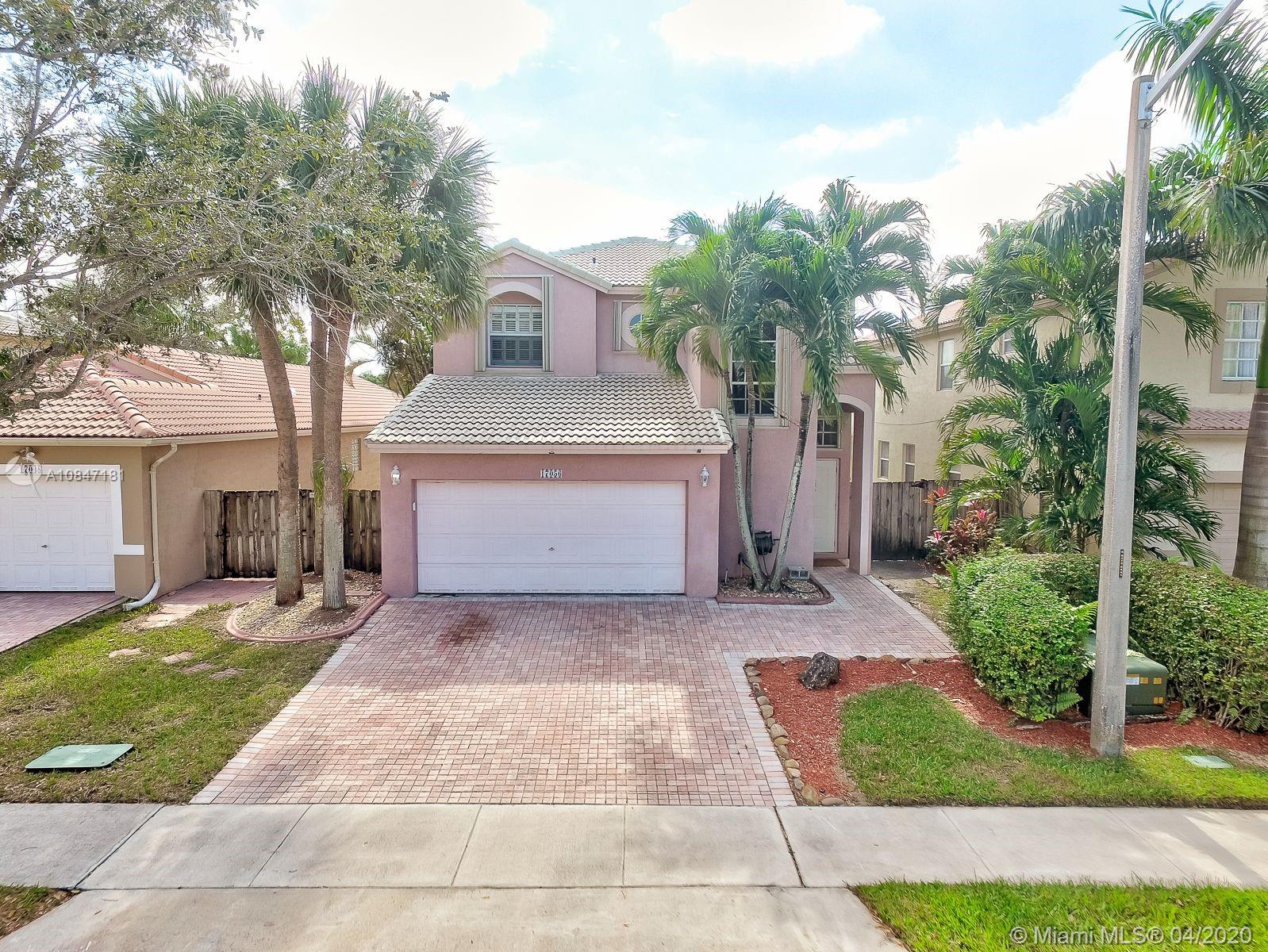 it is a steal!!! buying below market value. Fantastic 4 Bed, 2.5 Batch + Bonus Loft Home in Amazing Pembroke Isles. Features Updated kitchen with Granite tops, Stainless steel appliances, Breakfast nook, Family, Living and Dining rooms, Crown molding, Beautiful floors. All bed rooms on second floor, master suite with Tray ceilings on first floor, spa like master bath with frameless shower & soakin tub. Accordion hurricane shutters, low maintenance yard in front, all back is patio for kids play, 2 car garage. Community with elegant guarded entry, mature landscaping with resort style amenities including fully equipped fitness center, clubhouse, 2 pavilions, sauna, 4 swimming pools, 2 spas, aerobics studio, racquetball, basketball, soccer, Tennis & volleyball courts.