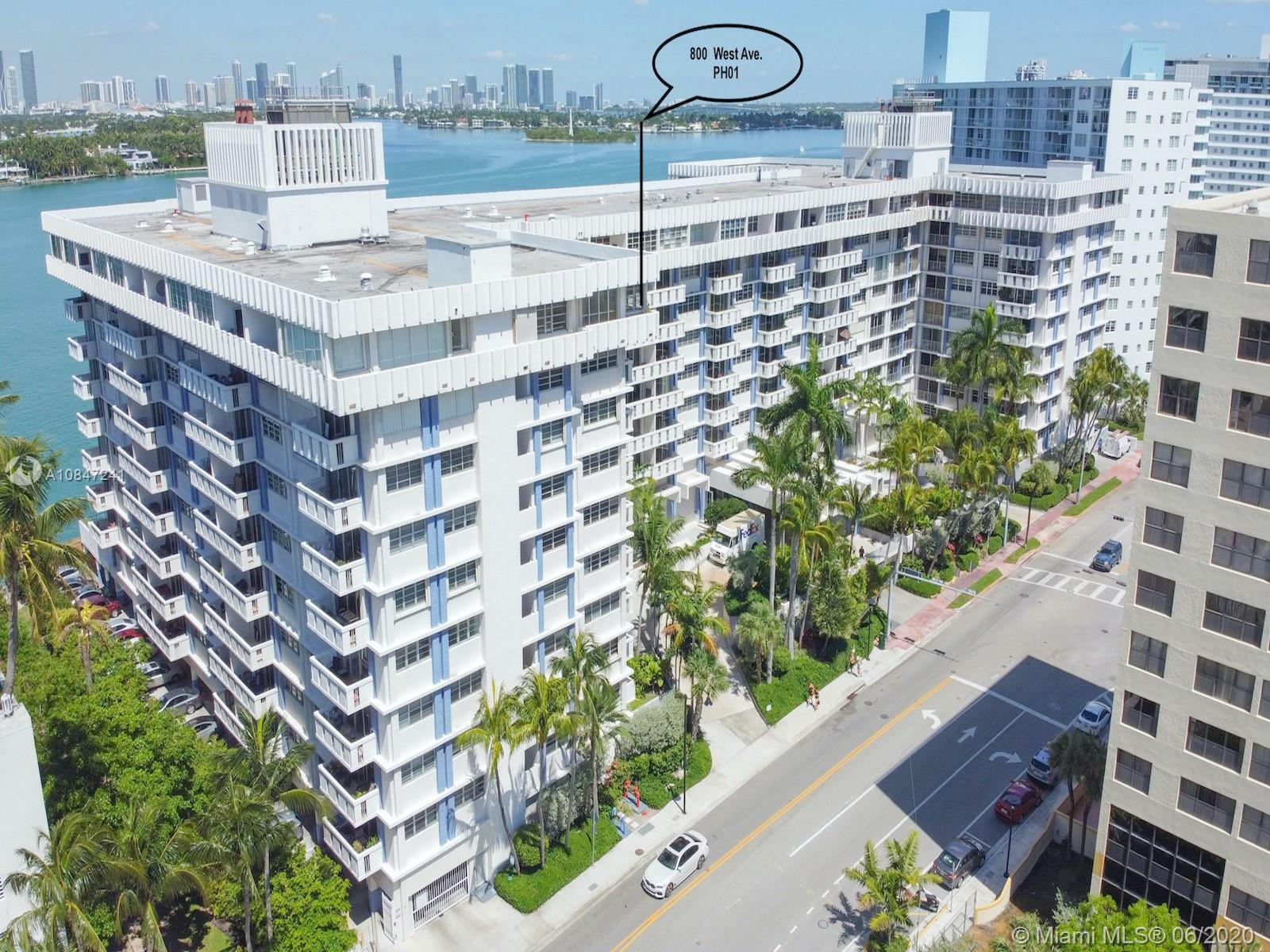 800  West Ave #PH01 For Sale A10847241, FL