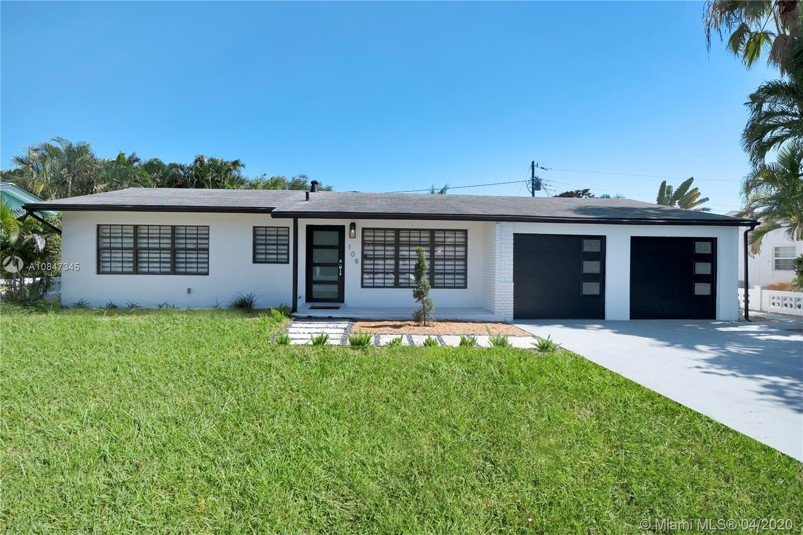 108 NE 19th St  For Sale A10847345, FL