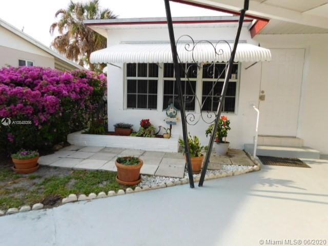 This 3/2 single family home is centrally located between Miami and Fort Lauderdale.  Close to shopping, schools, parks, Hollywood beach and the Florida's turnpike for easy access for your commute.  Freshly painted inside and out, newer windows and doors, 2005-Roof, 2013-AC & 2016-water heater.  Huge master bedroom that could be used as rental property, separate entrance with enough square footage to make this an efficiency.