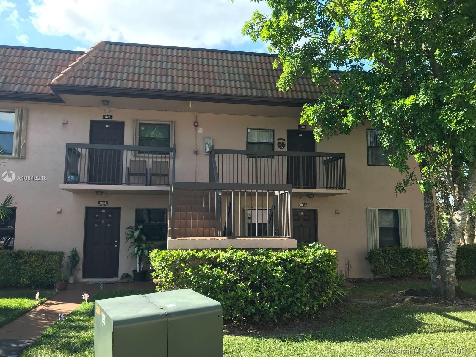 Spectacular Renovated 2bed 2bath, first floor, corner unit with lake view. Low maintenance (HOA) Excellent investment opportunity, currently rented until Feb 2021. Screened in patio with storage, accordion shutters and fans in both rooms and living area. Community pool & tennis court. (AC unit is 15 months old, dishwasher is 1 year old)
