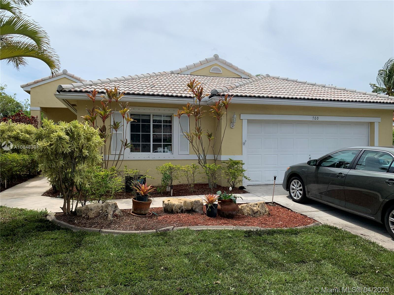 Beautiful 3/2 in the ever popular Pembroke Pines Florida. Located within the nestled the Pembroke Shores community this home is poised for amazing sunsets from your waterfront in-ground pool.  Commuting has never been more convenient, seconds to I-75 and Turnpike or 595. The community has a ton of amenities such as gated security, HOA maintained community landscaping and it is zoned for some of the best rated A+ schools in the area. Tons of opportunities, amazing shopping malls and so many amazing restaurants with beautiful city and county parks with tons of activities like fishing, boating, biking and some of the best golf courses anywhere. Beautiful beaches are 30 minutes away and your choice of city nightlife anywhere. This home will guarantee happiness for years to come.