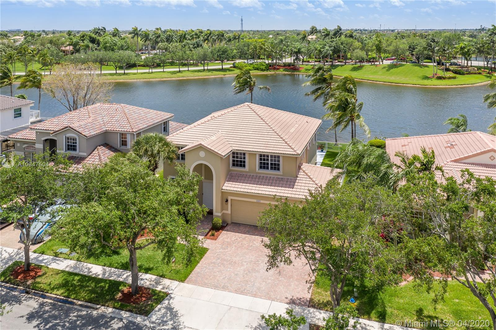 "***CONTEMPORARY LAKEFRONT SAN MARCOS MODEL POOL HOME ***ENCLAVE at PEMBROKE ISLES** Featuring: Remodeled Open Kitchen, Granite Countertops, SS Appliances, Serving Bar, Pantry, Spacious 2nd FL Master Suite w/Sitting/Guest Room ***RENOVATED BATHS*** Dual Walk-in California Closets, Custom Vanities, Elegant Free-Standing Soaking Tub, Frameless Glass Shower Enclosure, Modern Lighting, Newer A/C, Expansive Covered Patio & Balcony ***REFRESHING POOL***WIDE LAKE VIEWS*** The Perfect Family Home…. Residents Enjoy: Fitness Center, Aerobics, Sauna, Tennis, Racquetball, Basketball, Soccer, Volleyball, Swimming Pools, Jacuzzis, Fishing Piers, Walking/Biking Trails, Covered Picnic Areas & Children's Playgrounds.  HOA Includes: Landscaping, Cable, Internet & Alarm Monitoring.   ""TOP"" Rated Schools."