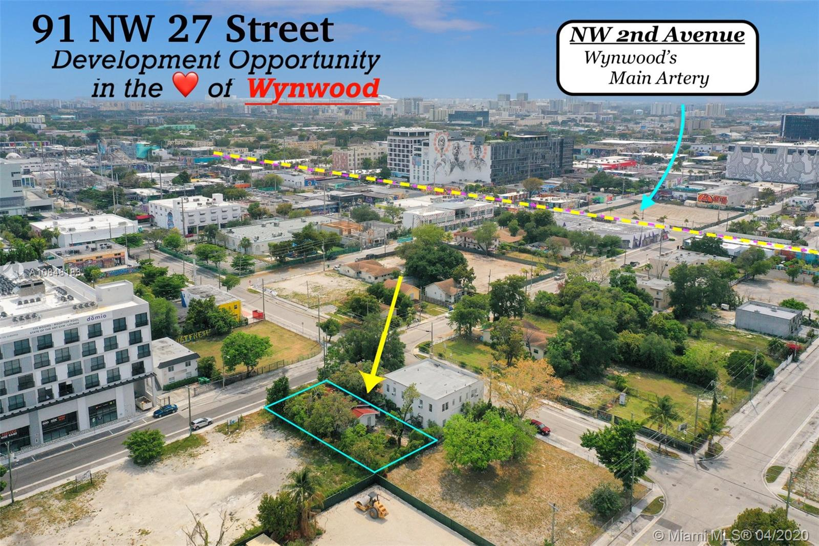 91 NW 27th St  For Sale A10848183, FL