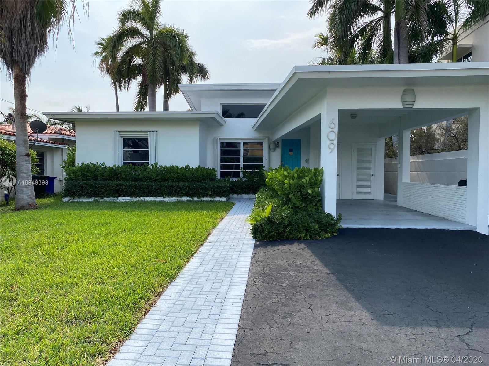 Partially renovated 2 bedroom 2 bathroom home on a 6,250 sq ft lot with 50 waterfront feet, boat dock, and direct ocean access with no fixed bridges. The home features an updated kitchen and master bath, new roof installed in January 2018, restored terrazzo flooring throughout, and a vaulted living room ceiling with plenty of natural light. Located in Idlewyld - one of the most desirable neighborhoods off Las Olas Blvd.
