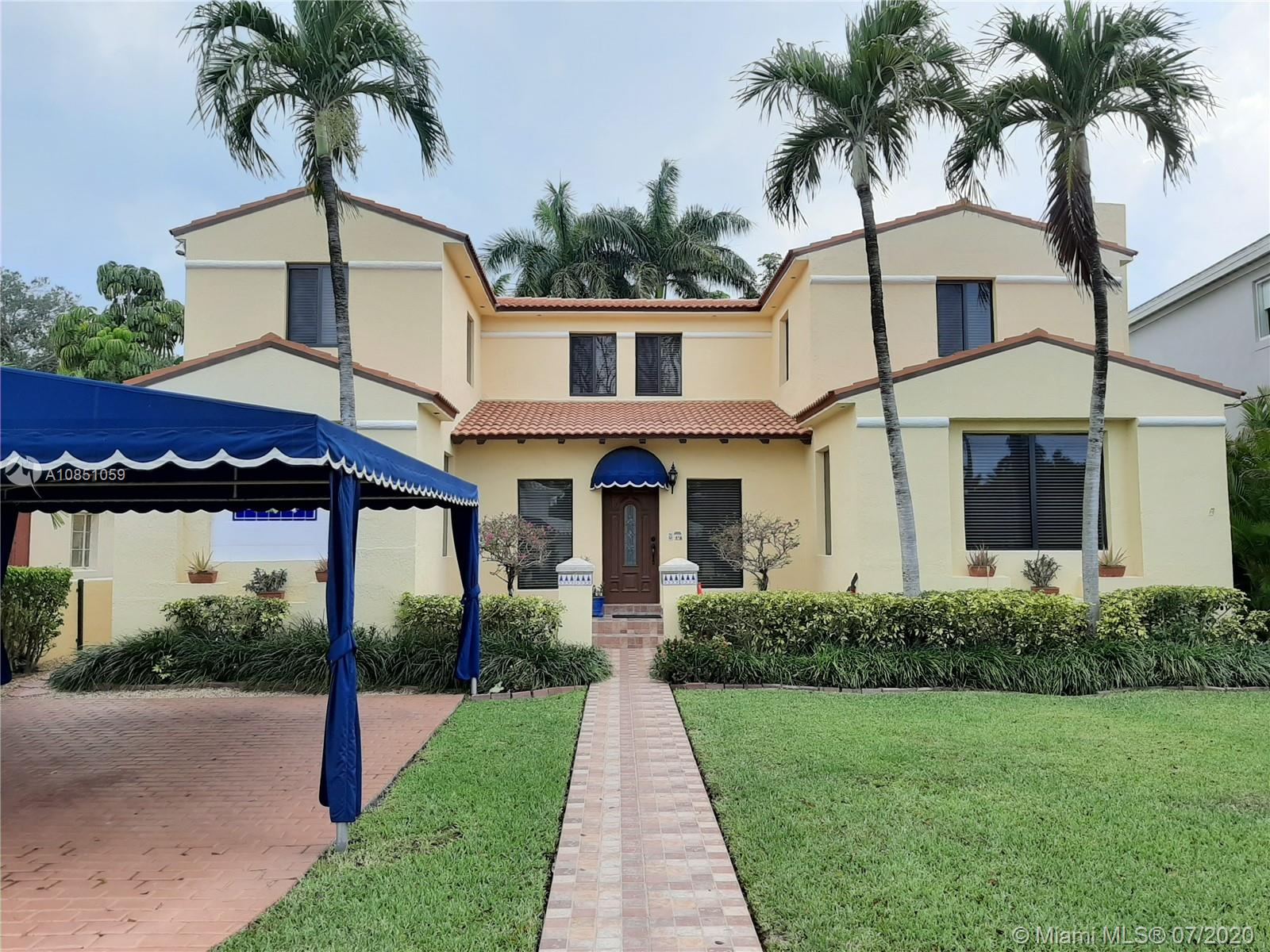 OWNER FINANCING AVAILABLE!!!!! LARGE 4/4 CLASSIC MIAMI BEACH HOME, WITH LOTS OF CHARACTER. THIS HOME IS LOCATED RIGHT ACROSS LAGORCE COUNTRY CLUB GOLF COURSE, AND A BLOCK AWAY FROM THE BAY. BEAUTIFUL SPANISH FLOORING ALL THROUGH OUT, AND WOOD FLOORS UPSTAIRS. ENJOY THE CONVENIENCE OF 2 MASTER SUITES, ONE ON EACH FLOOR. THIS HOMEIS EXTREMELY WELL TAKEN CARE, AND FULL OF UPGRADES. IMPACT WINDOWS, BOSCH STAINLESS STEEL APPLIANCES, AUTOMATIC GATES, AND MUCH MORE. CLOSE TO BEACHES, RESTAURANTS, PARKS, SCHOOLS AND EASY ACCESS TO THE FREEWAY. ENJOY ALL THE FUN OF LIVING AT THE BEACH.