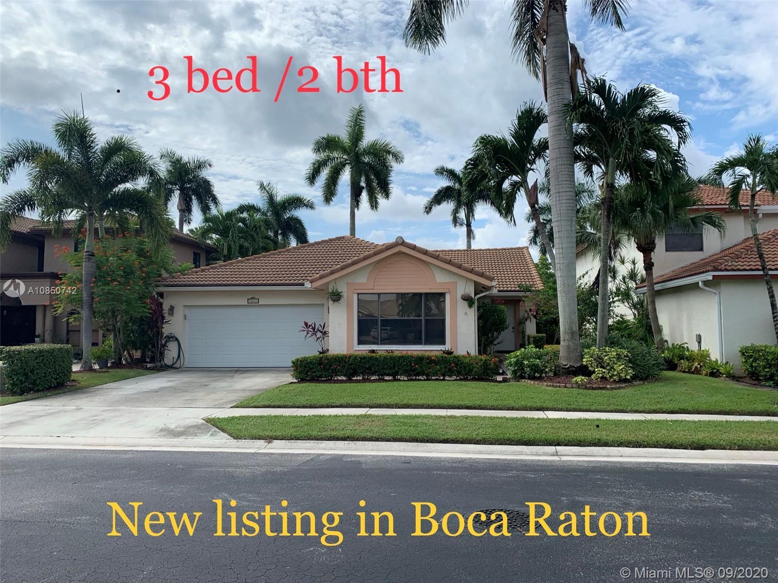 10621 Mendocino Ln, Boca Raton, FL 33428