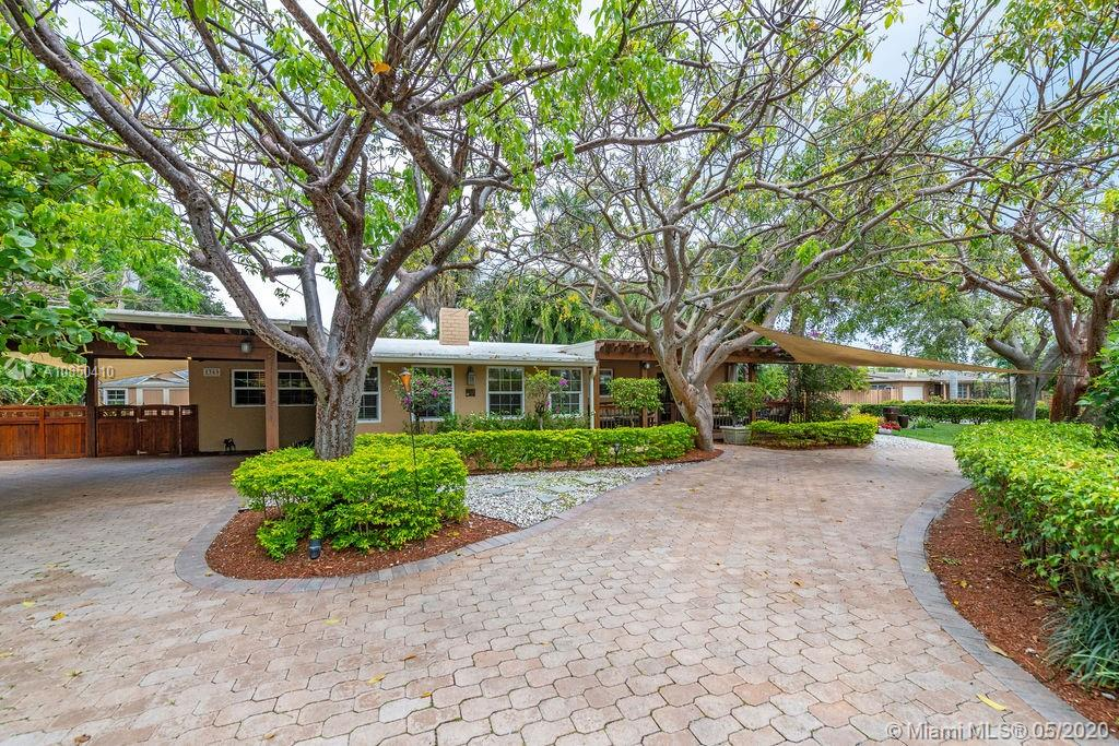 Just reduced!  Gorgeous award-winning home now $74,000 less than original $749,000 asking price.  This completely updated & lovingly maintained home is tucked away in a highly desirable enclave off Cliff Lake.  In 2010, this home won the landscaping award for the City of Fort Lauderdale.  Impeccably maintained exterior, boasting a covered pergola, large paved circular drive, sophisticated mature landscaping, private fenced travertine deck, landscape and security lighting, outdoor shower, Jacuzzi, fountains & gazebo.  Completely remodeled interior with custom finishes featuring home office, fireplace, crown molding.  Smart Home devices, enormous master and French doors opening to a wooden pergola.  3rd bedroom was converted to home office.  New electric, water heater & A/C.