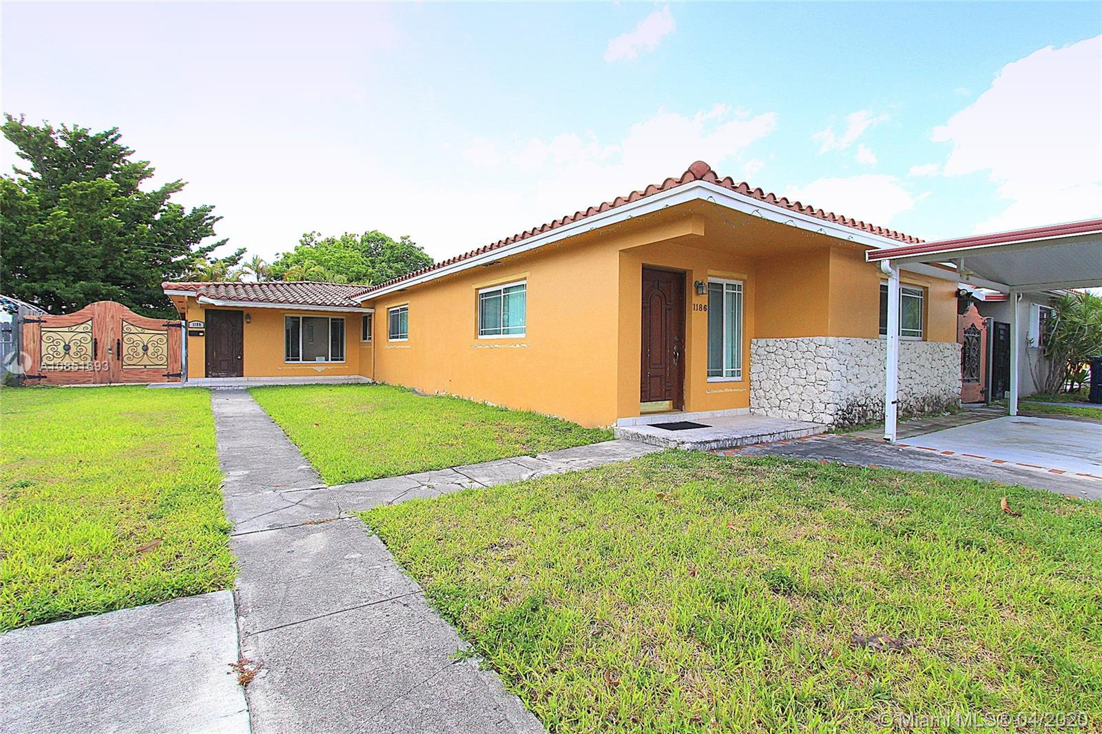 "Beautiful duplex in Westchester now available! Legal duplex features a 3/2 on one side and 2/1 on other. Barrel tile roof and updated windows. Ready for an owner occupant who is looking for extra income or perfect addition to any rental portfolio. In close proximity to ""Calle Ocho"", 826 & 836 expressways. Rarely available, don't miss this one! Multiple Offers. Highest and Best due by 10:00AM on May, 19th, 2020."