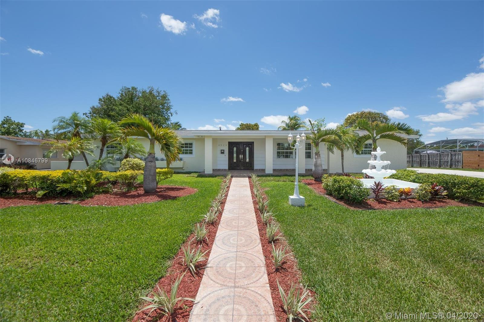 8520 SW 184th Ter  For Sale A10846799, FL