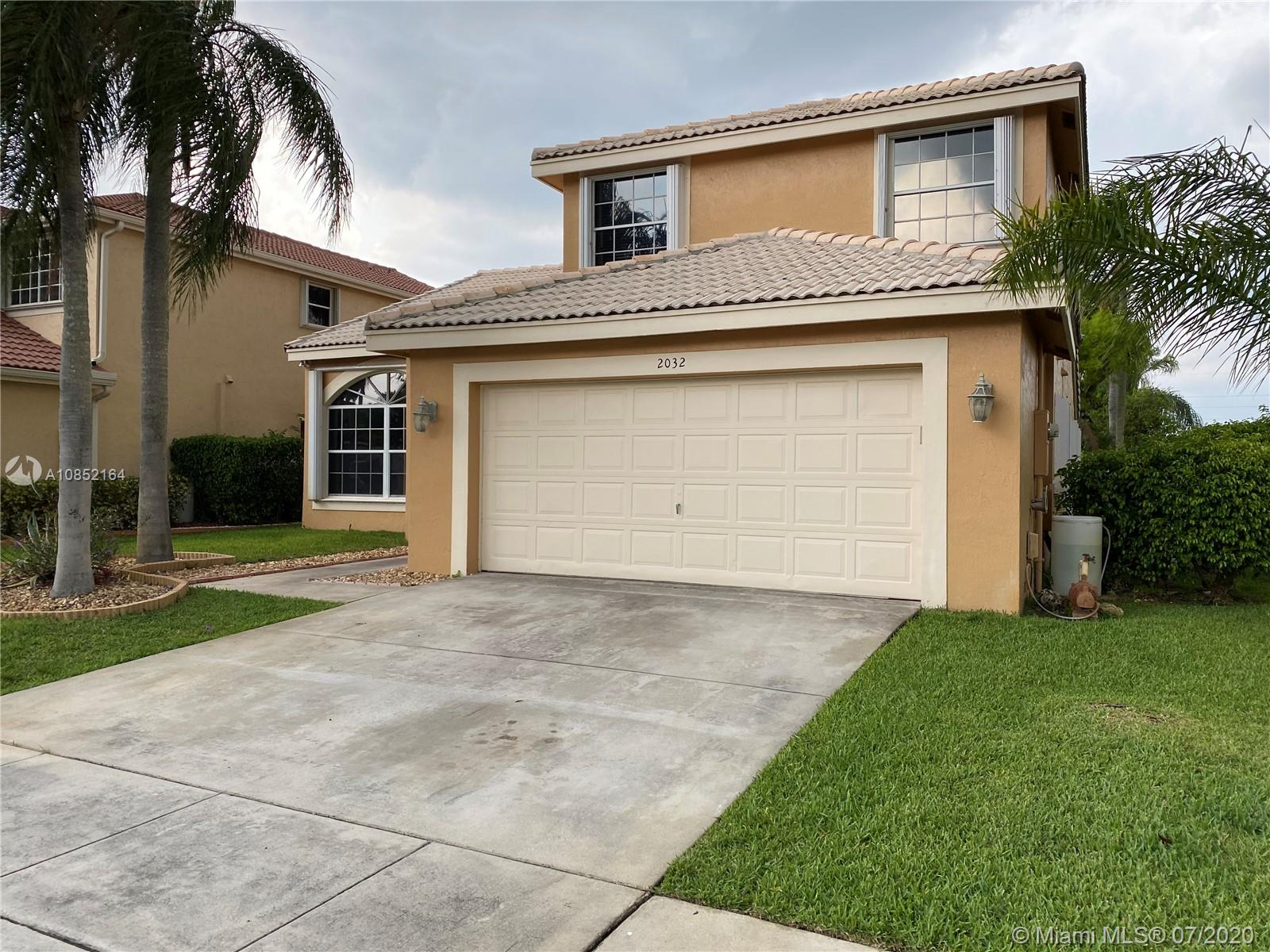 2032 NW 183rd Ave  For Sale A10852164, FL