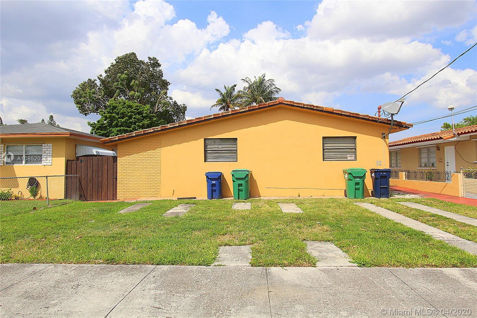 Unbeatable location with easy access to expressways, large retail centers and schools. One of the best rental markets in the area. Large units with good layout. Barrel tile roof and some updates completed. Non-conforming triplex use on duplex zoning. Please complete your due diligence.