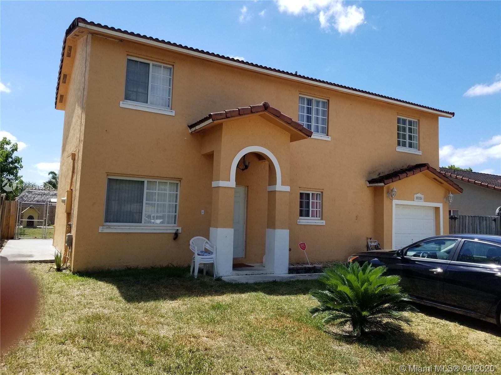 18316 SW 154 PLACE  For Sale A10851596, FL
