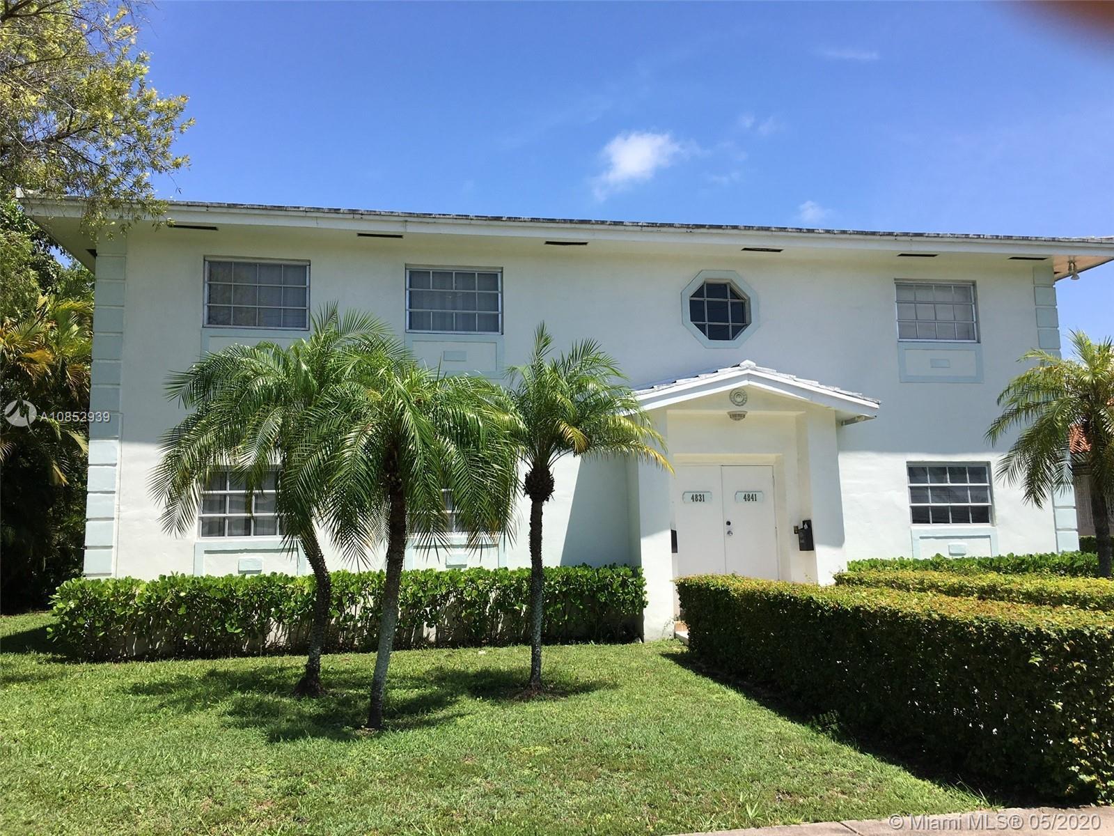 4841  Ponce De Leon Blvd #4841 For Sale A10852939, FL