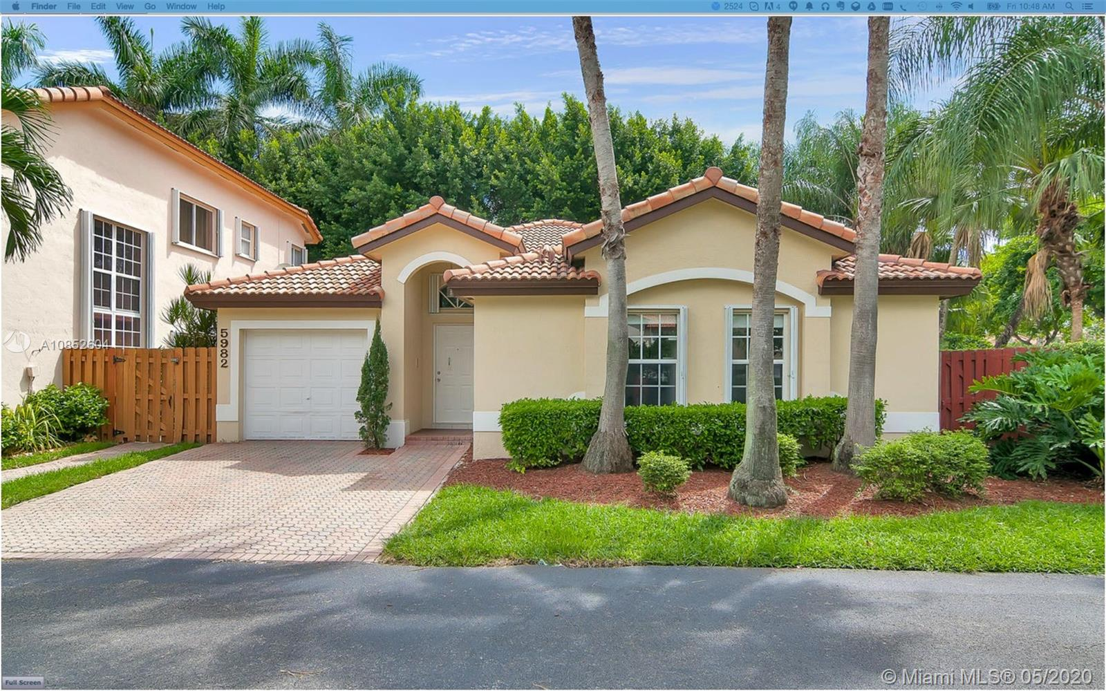 5982 NW 113th Pl  For Sale A10852604, FL