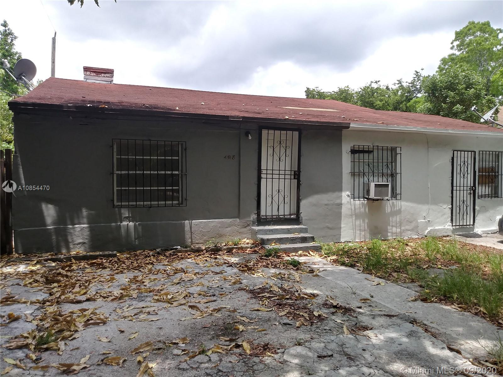 4518 NW 10th Ave  For Sale A10854470, FL