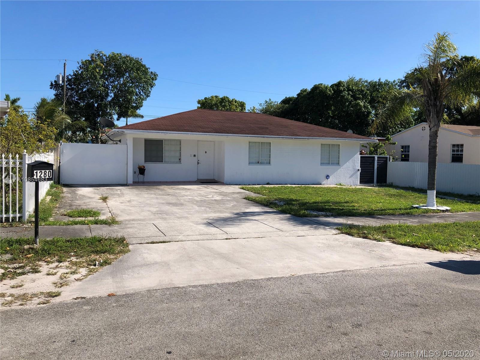 1280 NW 116th St  For Sale A10854683, FL