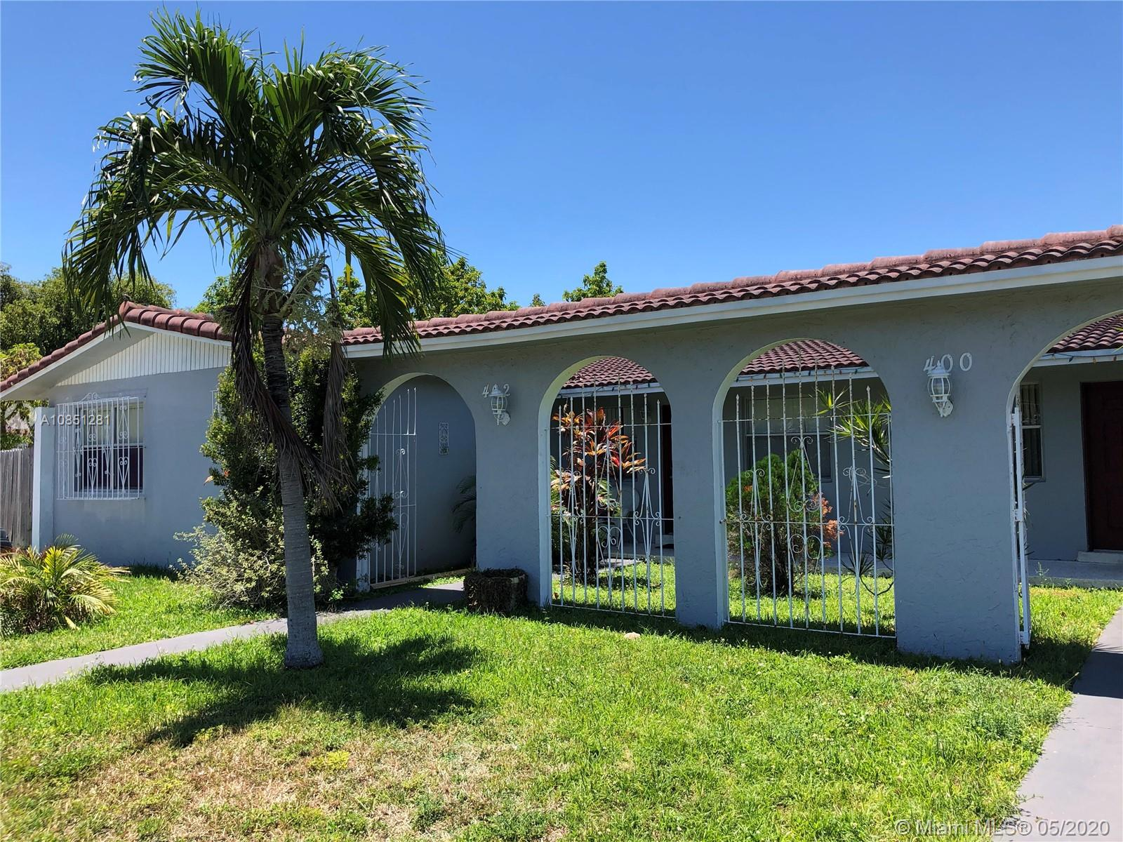 400 SW 110th Ave  For Sale A10851281, FL