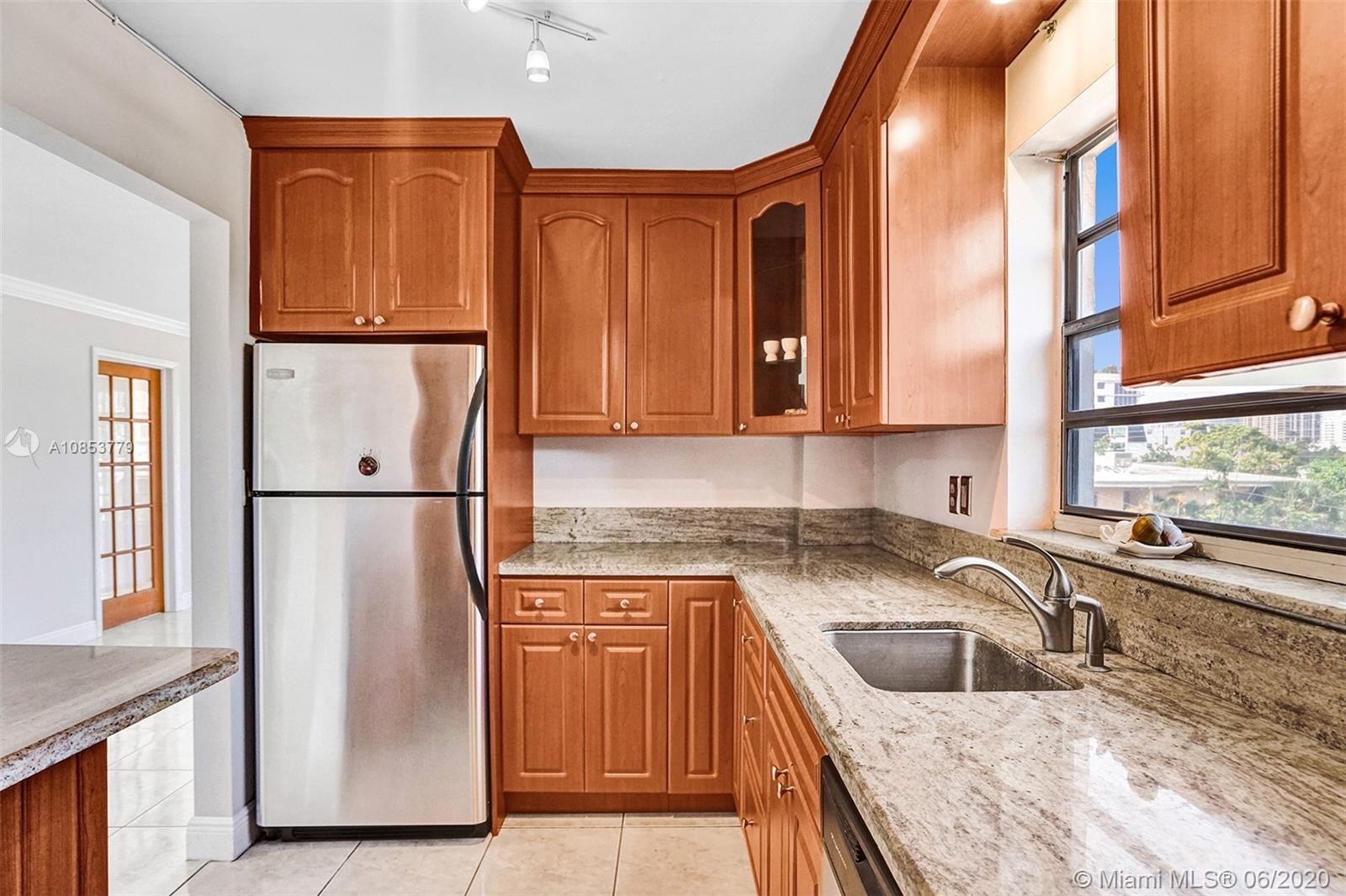 Spacious corner unit flooded with natural light and Intracoastal views! Two bedrooms with en-suite baths and tile floors throughout. Live in a quiet boutique 12 unit building. Excellent location in the heart of Bay Harbor Islands, walking distance to fine dining, Bal Harbor Mall, house of worship, beautiful beaches, Kindergarten -8th-grade A-rated school for the past 20 years, and much more. Excellent opportunity for an end-user or an investor, can rent 1st year. Large storage unit and assigned parking space included.