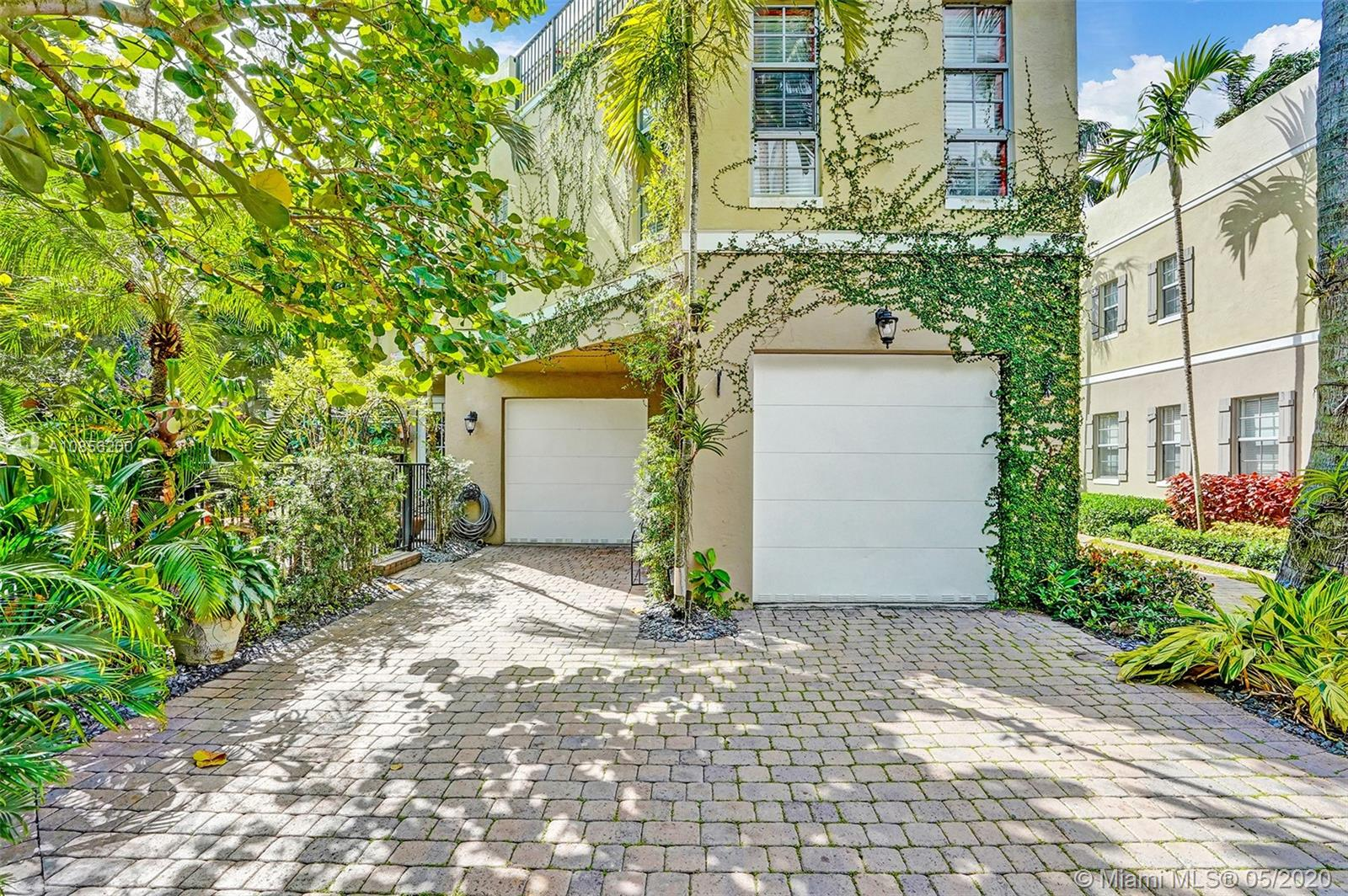 LISTED BELOW APPRAISAL VALUE!! 2400 SQ FT living space/3000 total-Ocean Access 3bed 2.5Bath Pool Home on a superb hidden cul-de-sac of Tarpon River... on the East side of Fort Lauderdale! The high-end finishes in and out of this townhouse are nothing short of impressive. Jenn-Air appliances and an extended wine-bar off the kitchen-All Brand new Granite and Quartz/Plenty of cabinet space and a pantry! Enjoy the high ceilings and open floor plan of this magnificent architecture, including a balcony on the top floor overlooking the pool, dock, exotic landscaping and sky line!  The master is amazing..lots of closet space, dbl vanities, master bath and private office. 2 Bedrooms/1Full bath on 1st Floor**No HOA FEE/NO MNGNT!!** Dbl Bay 2 CAR GARAGE*METAL ROOF**ALL IMPACT WINDOWS AND DOORS!!