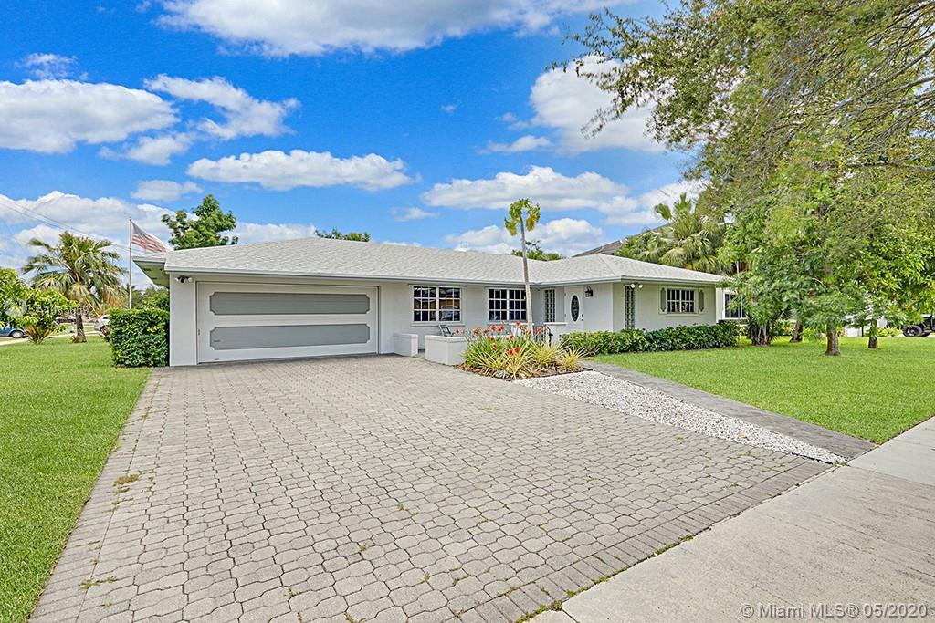 Plantation Home for Sale!! Meticulous & stunning. New Roof. Completely remodeled. Located in Melaleuca Isles. NO HOA. 3/2 with 2 car garage. Giant corner lot. Walk to American Heritage. Located next to 595/Sawgrass/75.  Child's park across the street and 2 min walk to Publix. House has built in office, CAT 5 & cable wiring, water softener, brick paver driveway, newly painted, custom window coverings, security cameras, s/s appliances, moveable kitchen island, tankless hot water heater, screened patio w/ doggy door complete with a fenced back and side yard. Amazing fruit trees, mango, pineapple, avocado, banana, papaya. Please watch the Matterhorn 3D video to this home.