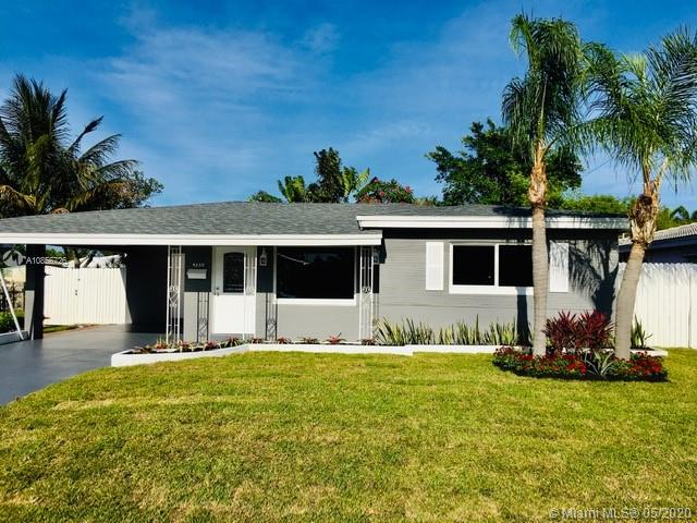 LOOK NO MORE!CHECK OUT THIS BEAUTIFUL COMPLETELY REMODELED 2 BEDROOMS 2 BATHROOMS HOME WITH LARGE FAMILY ROOM LOCATED IN THE HEART OF OAKLAND PARK. THIS HOME FEATURES ALL IMPACT WINDOWS AND BRAND-NEW ROOF. NEW KITCHEN FEATURES NEW SAMSUNG STAINLESS STEELAPPLIANCES, TILE BACK-SPLASH AND BEAUTIFUL GRANITE COUNTER-TOP WITH PLENTY OF SPACE FOR FOOD PREP. BOTH BATHROOMS HAVE BEEN REMODELED, MASTER BATHROOM FEATURES WALK-IN SHOWER. BEAUTIFUL FLOORS THROUGHOUT THE HOUSE. LAUNDRY ROOM IS VERY SPACIOUS WITH LOT OF STORAGE SPACE, WITH NEW APPLIANCES: SAMSUNG WASHER AND DRYER. THIS HOUSE ALSO COMES WITH BRAND NEW WATER HEATER. ENJOY BEAUTIFUL BACKYARD VIEW FROM FAMILY ROOM OR RELAX IN THE COVERED BACK PATIO RAIN OR SHINE. YARD HAS NEW PLANTS AND NEW GRASS, INCLUDING BEAUTIFUL PALM TREES IN THE BACK