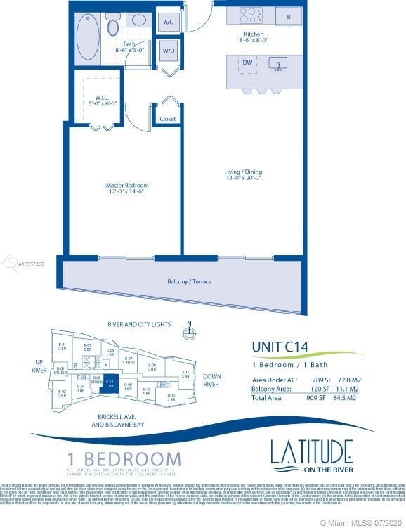 185 SW 7th St #3114 For Sale A10857422, FL