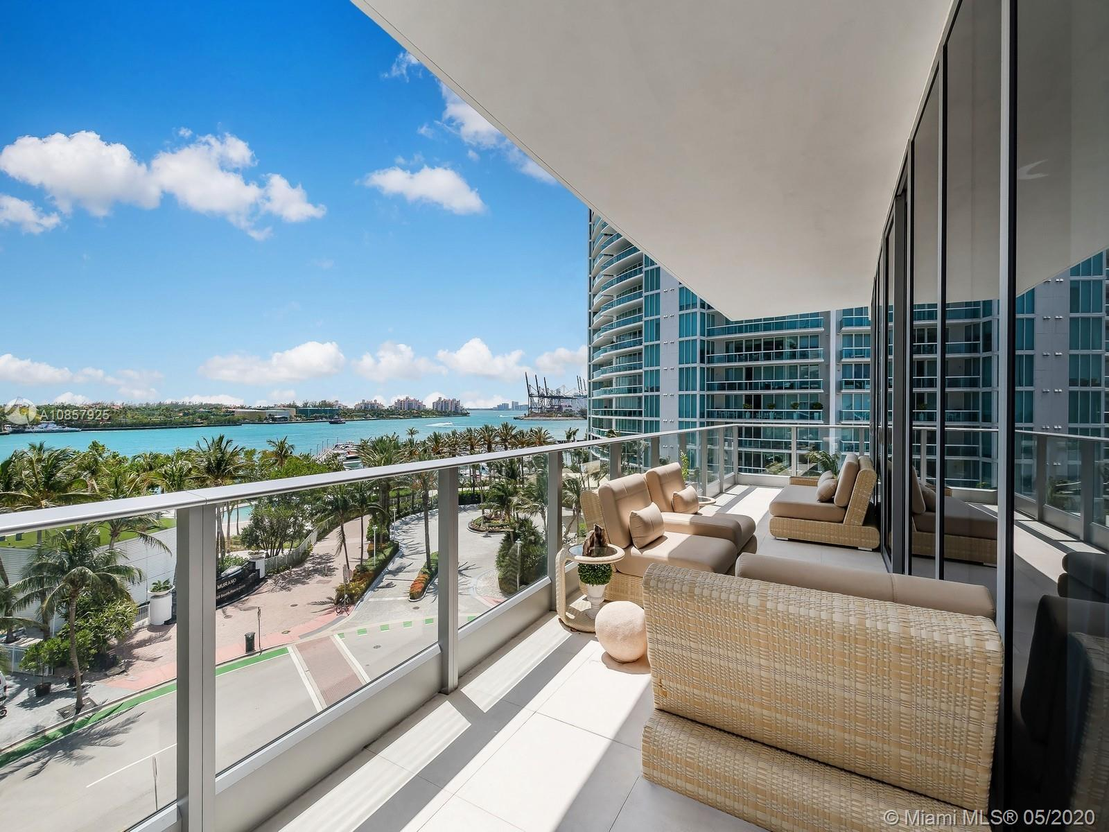 801 S Pointe Dr #501 For Sale A10857925, FL
