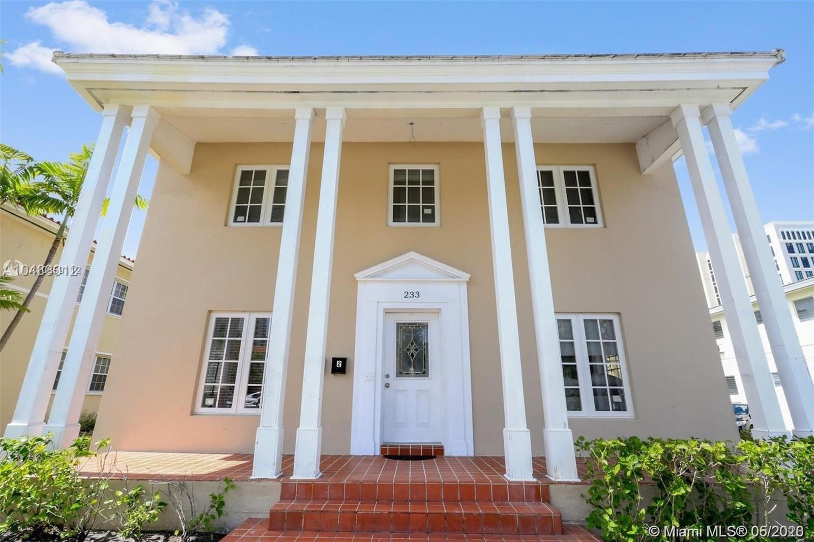 233  Madeira Ave  For Sale A10859112, FL