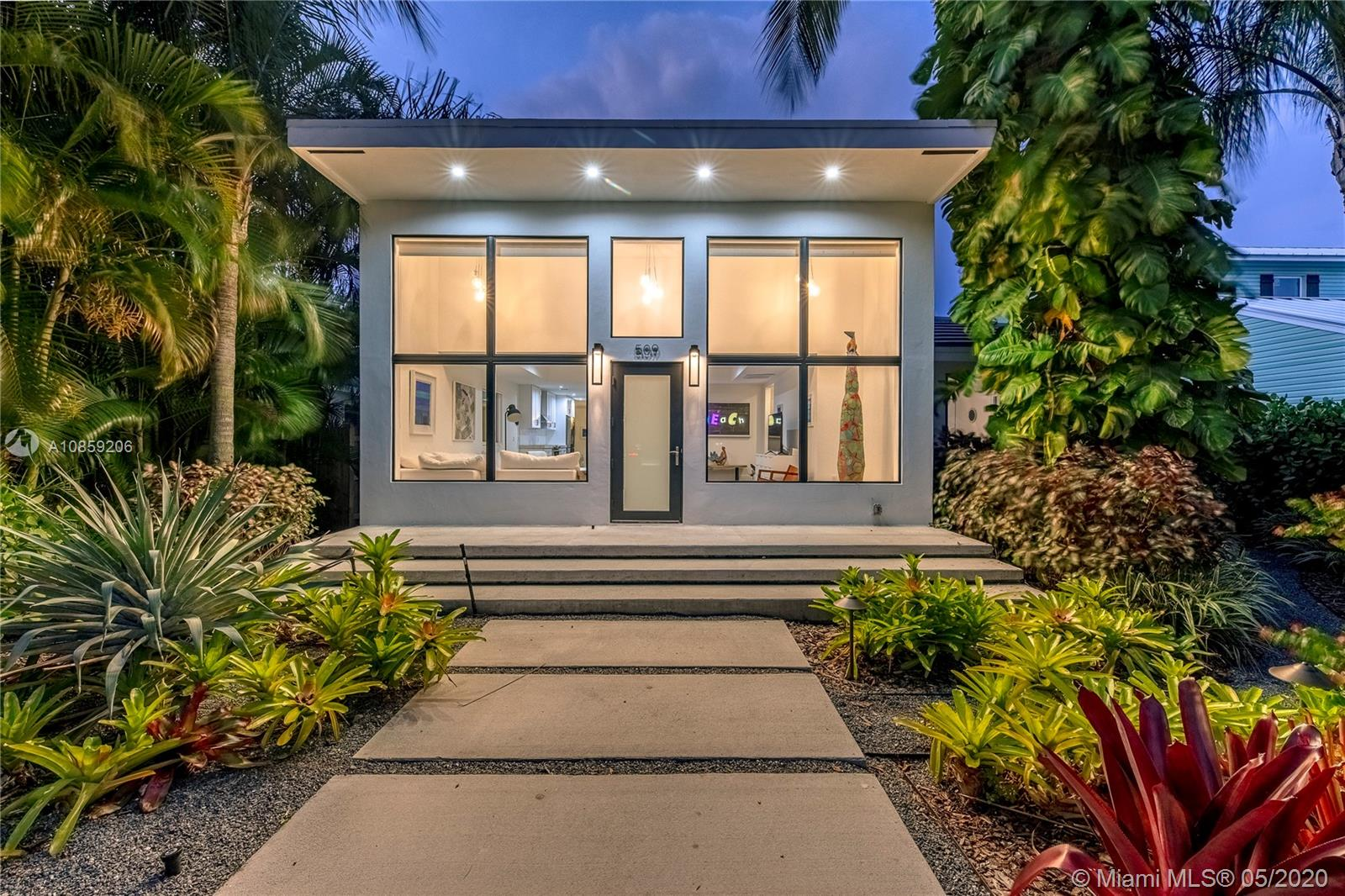 Proudly presenting this modern masterpiece of a home in highly desired Tarpon River neighborhood. Rebuilt and completely redesigned in 2018, this property is an absolute marvel, with the finest finishes and an elegant  contemporary/modern split floorpan layout. Possibly the nicest house in Tarpon River this house is built for entertainment with the best of indoor/outdoor living. Outdoor area is completely private, pool is beautiful and the tiki hut makes for a fantastic outdoor living room. Lush landscaping, gorgeous curb appeal and best of all  everything is brand new in this home. Walk to local neighborhood hangouts or take a quick bike ride to Las Olas. This won't last.