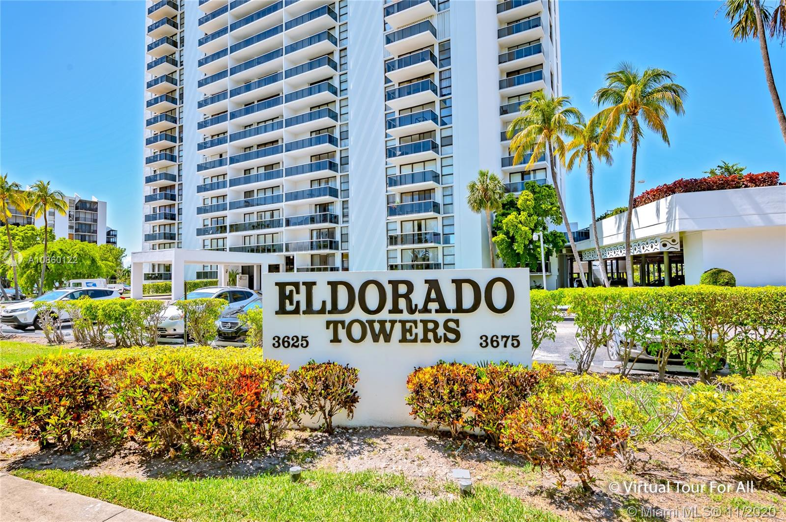 3675 N Country Club Dr #1102 For Sale A10860122, FL