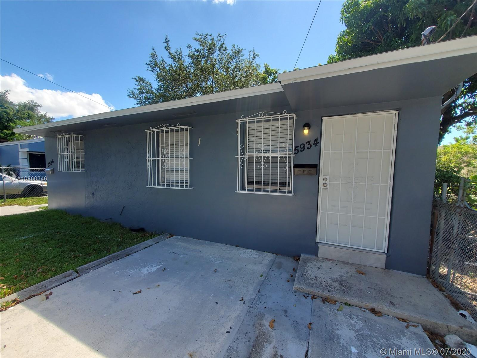 5936 NW 1 avenue  For Sale A10860346, FL