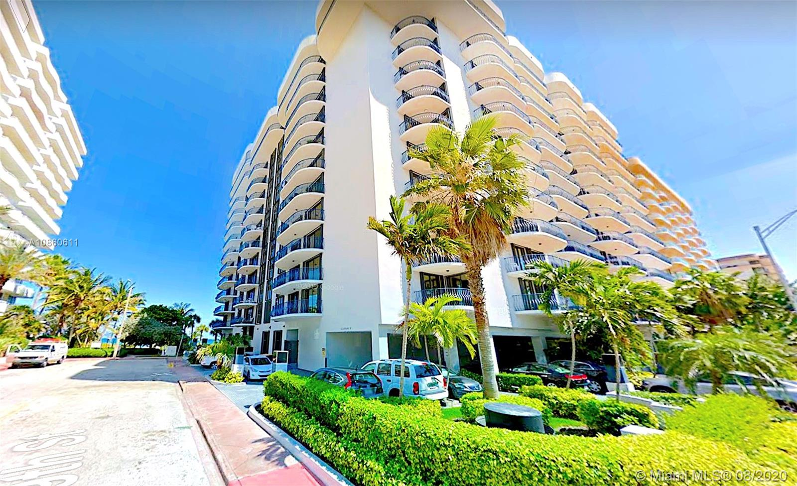 8877  Collins Ave #1105 For Sale A10860611, FL