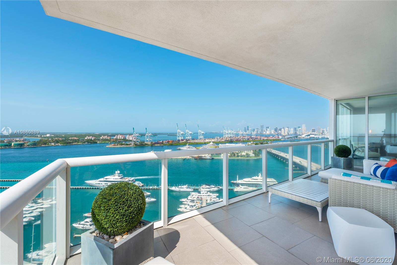 450  Alton Rd #2407 For Sale A10860889, FL