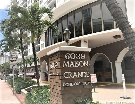 6039  Collins Ave #1019 For Sale A10859981, FL