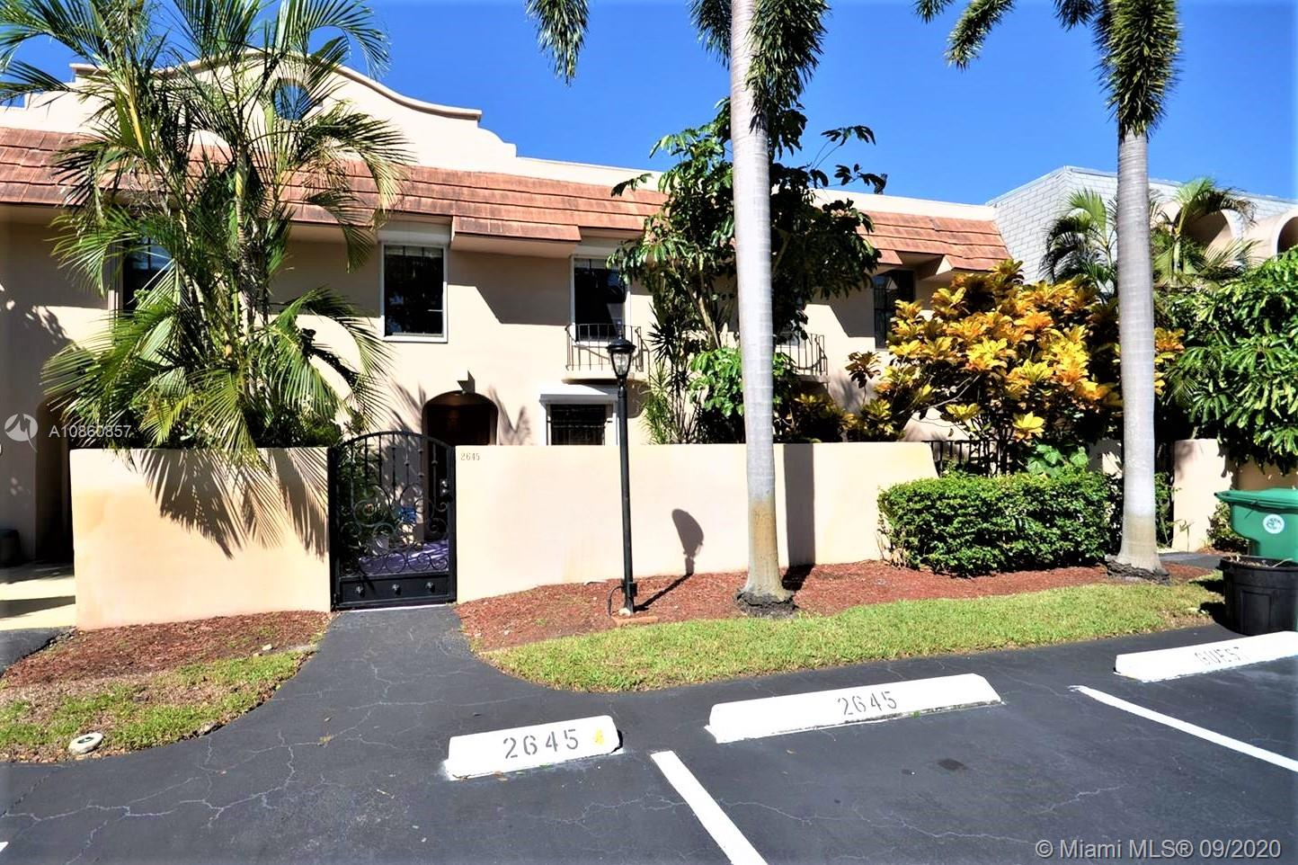 2645 SW 73rd Way #37 For Sale A10860857, FL