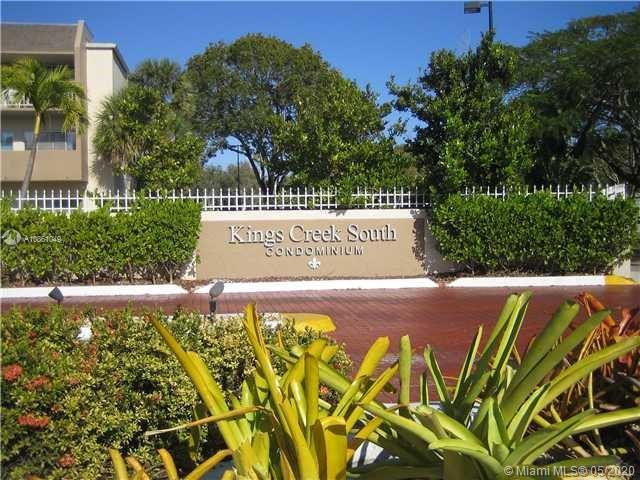 Desirable 1/1 and half corner unit in Kings Creek South Condo. All tiled great condition.Amenities include tennis courts, swimming pools w/showers, jacuzzi, private parking, gym, weight room, billiard, party room and club house.Water and basic cable are included in the maintenance fee.Great location, walking distance from Metro Rail, Downtown Dadeland, Dadeland Mall, minutes away from major expressways.Unit is rented until July 31st, tenant is willing to stay or move out if needed.Email listing agent with showing request.