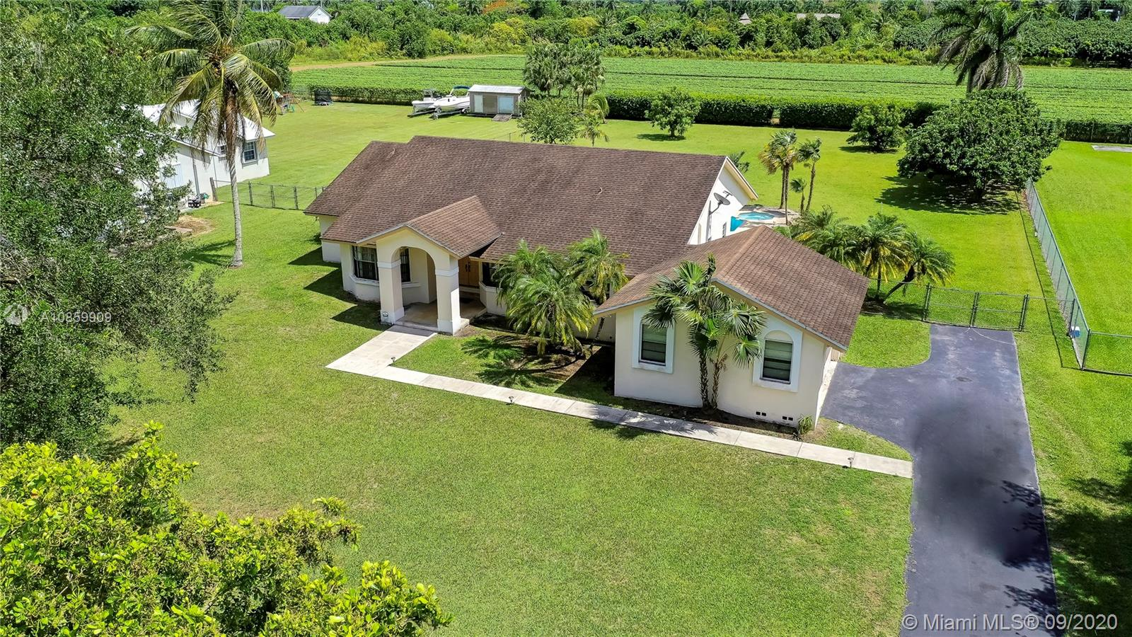 18450 SW 244 St  For Sale A10859909, FL