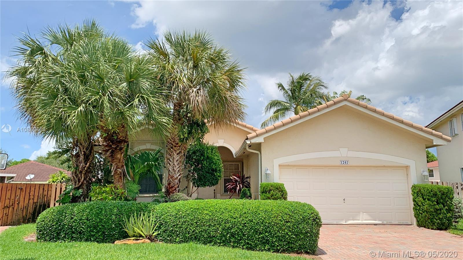 7247 NW 22nd Dr  For Sale A10860604, FL