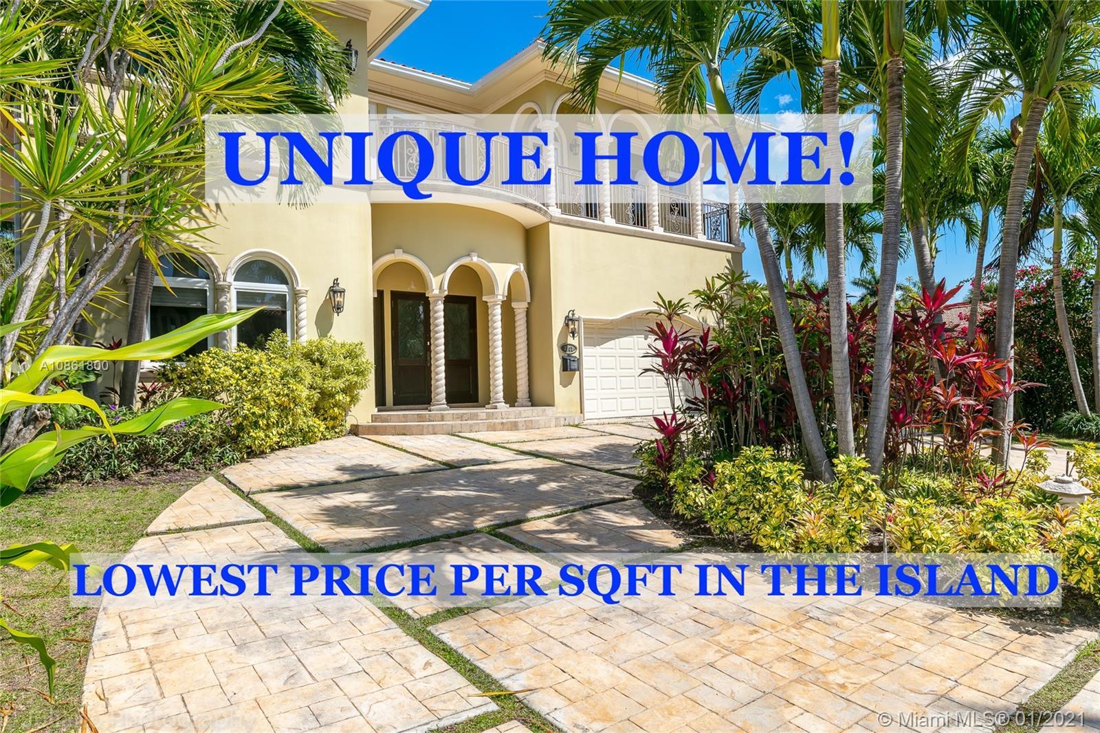 7701  Miami View Dr  For Sale A10861800, FL