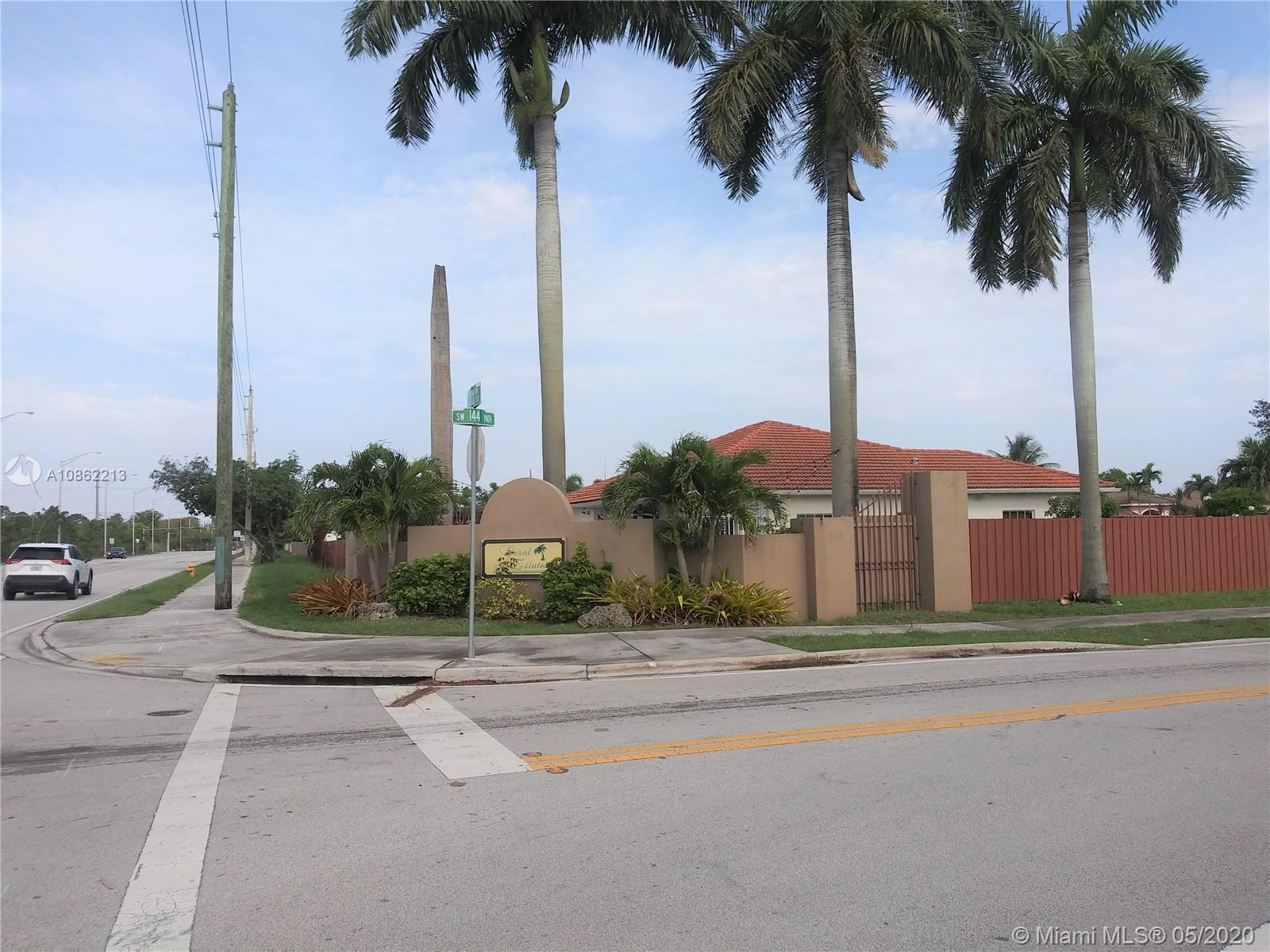 18316 SW 145th Ave  For Sale A10862213, FL